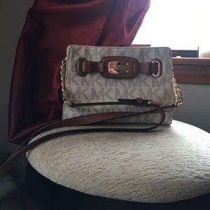 MICHAEL KORS NWT Hamilton Crossbody Messenger Bag